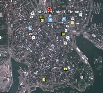 HelsinkiOnGoogleEarth
